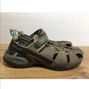 2376db21211b Teva Shoes - Teva Womens Tan Forebay Sandals Size 8.5 -K8